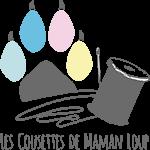 Logo les cousettes de maman loup